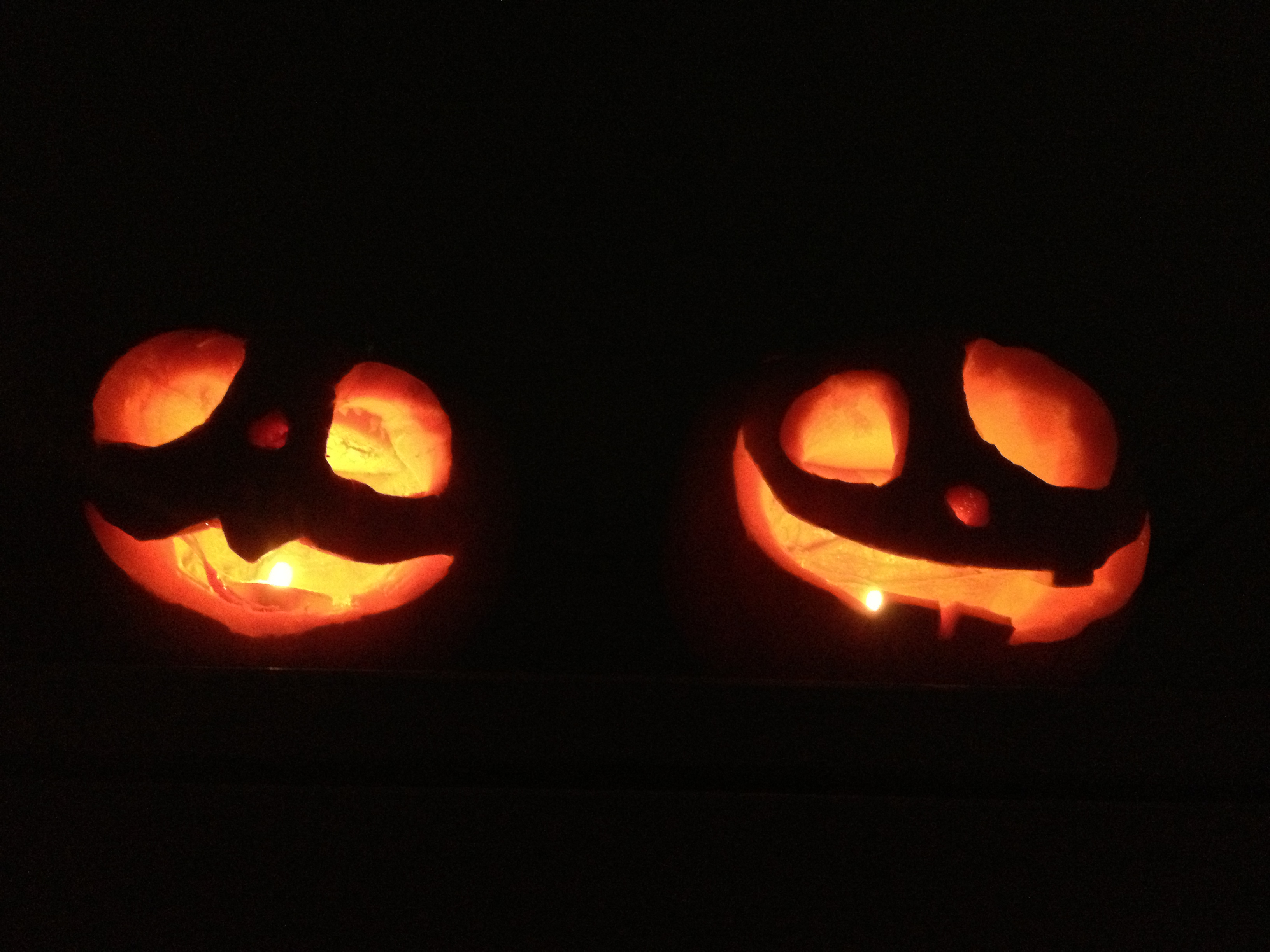 Como hacer calabazas en halloween energ a y feminidad - Calabazas de halloween de miedo ...